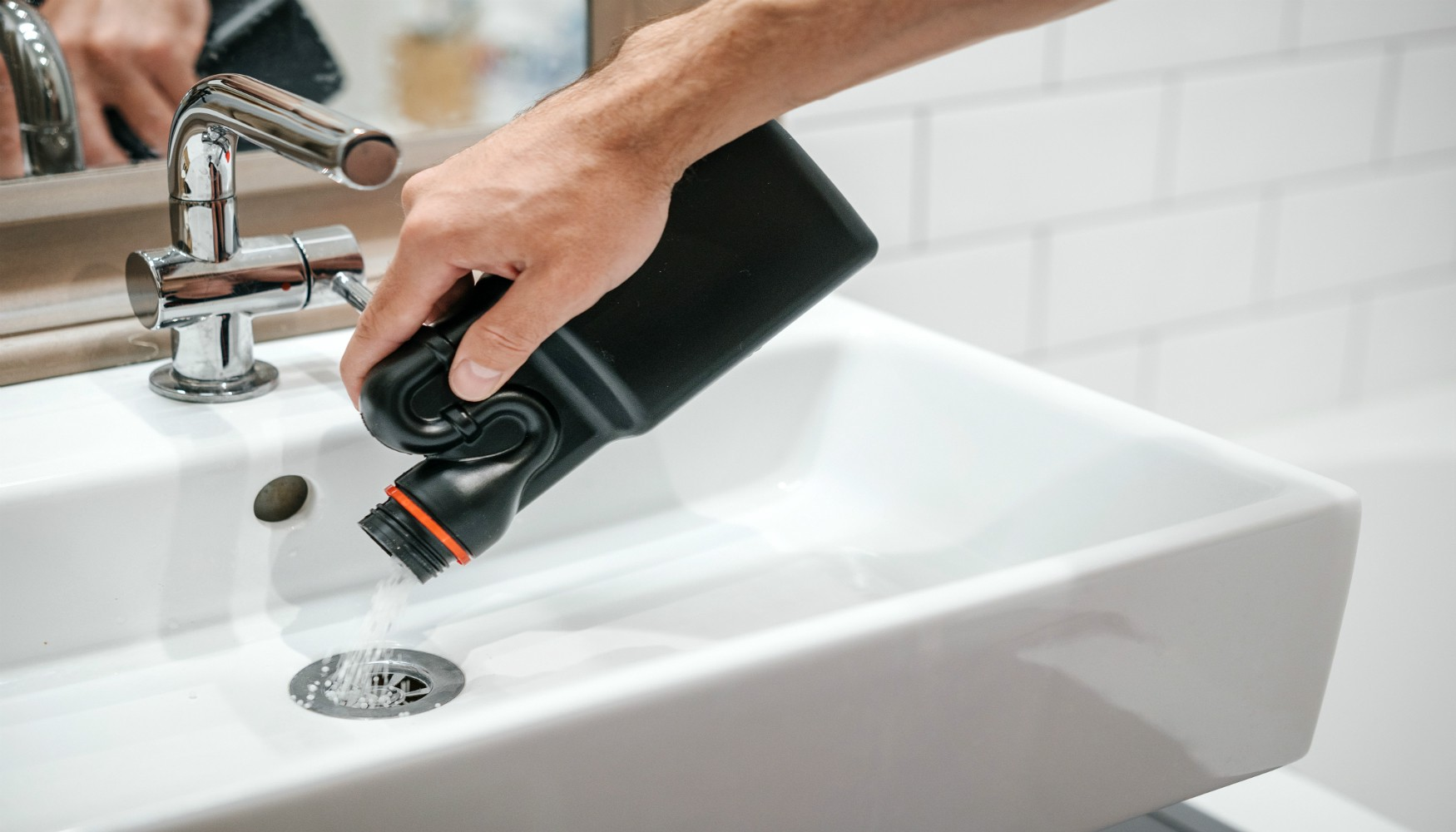 how to unblock a clogged drain